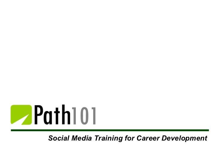 Social Media Training for Career Development