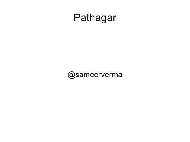 Pathagar  @sameerverma