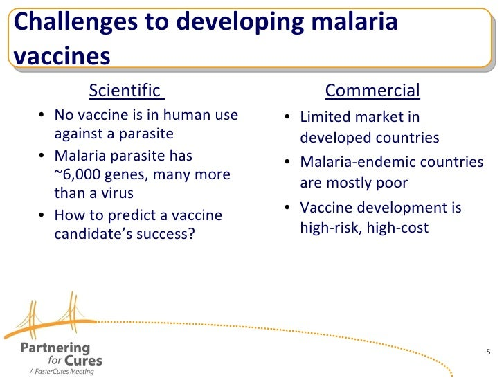malaria vaccine development essay Principal hurdles to vaccine development include the complexity of the   medical research makes available a 1995 essay by t holder on malaria  vaccines.