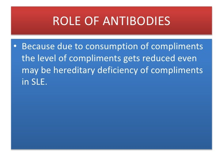 ROLE OF ANTIBODIES<br />IgG is a good opsonin. Binding of IgG to Fc receptors on other types of cells results in the activ...