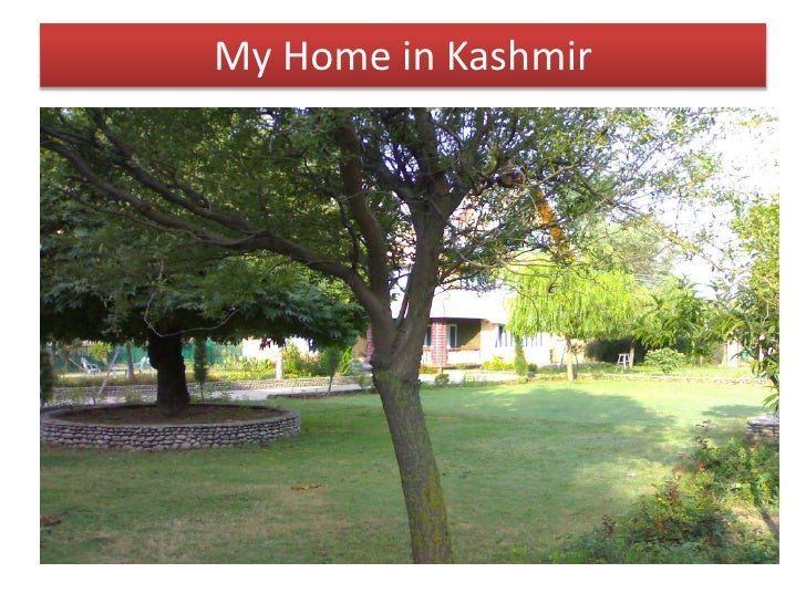 My Home in Kashmir<br />