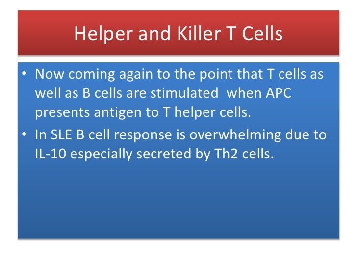 Antibodies involved in SLE<br />Following detection of a high titer of ANAs (e.g. 1:160), various subtypes are determined....