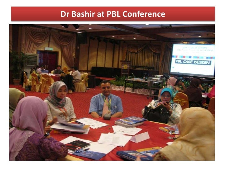 Dr Bashir at PBL Conference<br />