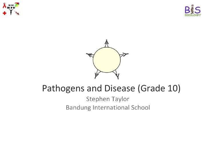 Pathogens and Disease (Grade 10)