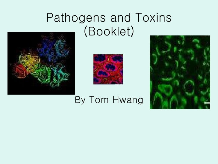 Pathogens and Toxins (Booklet) By Tom Hwang