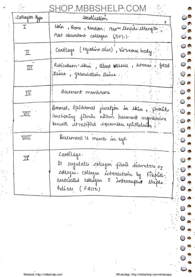 Pathology Handwritten Note Sample Slide 2