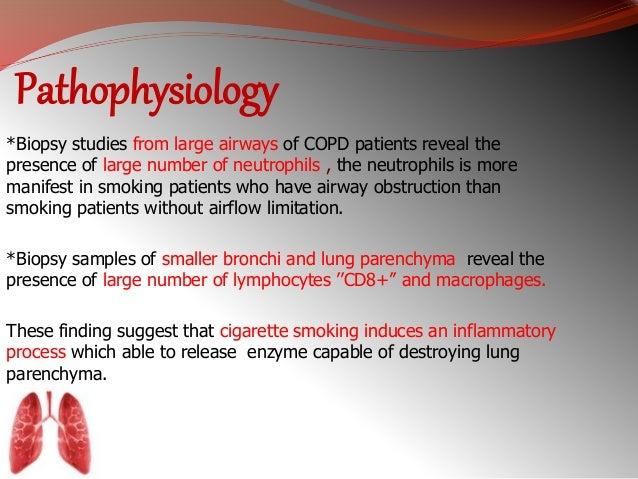 Pathophysiology of copd