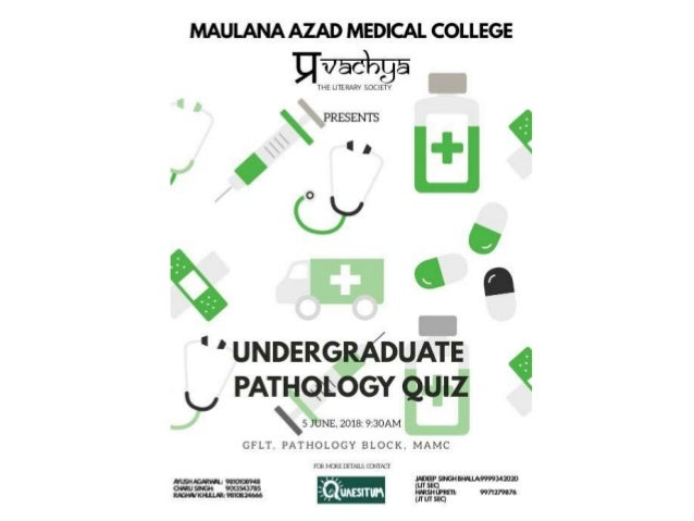 Pathology Quiz Prelims