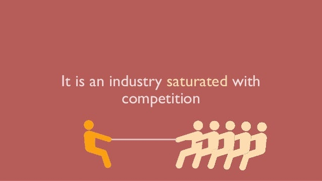 It is an industry saturated with competition