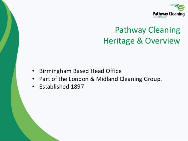 Pathway Cleaning Limited: High Quality Cleaning Tenders