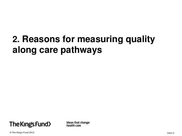 How to commission for improving health outcomes: measuring