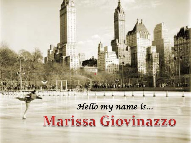 Hello my name is…