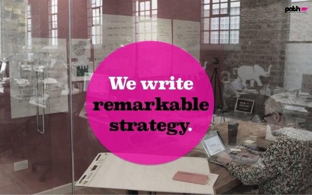 We write remarkable strategy.