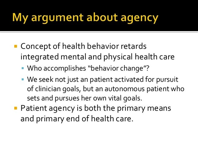  Extrinsic: healthy action produces health- diet, exercise, medication adherence  Unavoidable in chronic illness care  ...