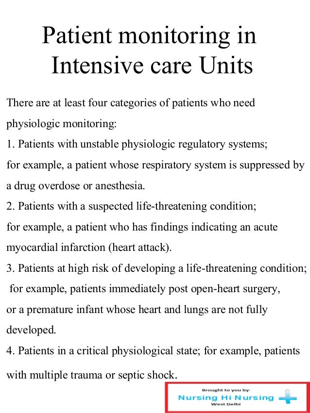 Patient care and monitoring systems patient monitoring ccuart Choice Image