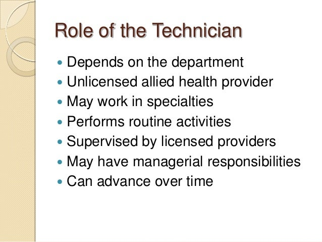 Few Credentials Required To Become A Patient Care Technician