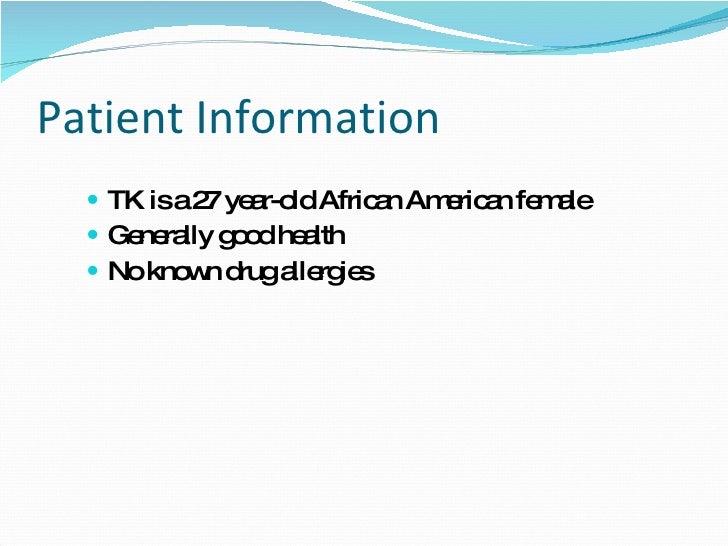 patient case study powerpoint presentation