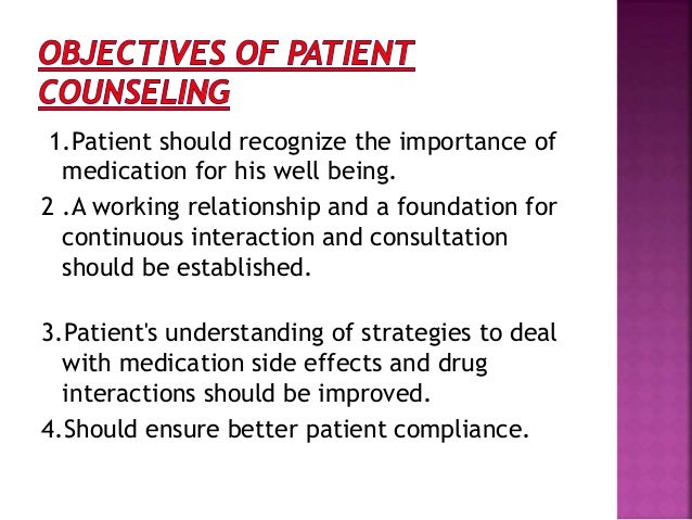 Patient counselling Slide 3