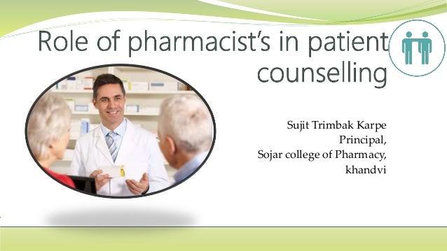 Sujit Trimbak Karpe Principal, Sojar college of Pharmacy, khandvi