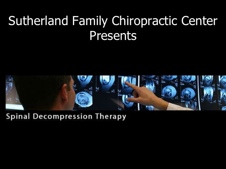 Sutherland Family Chiropractic Center Presents