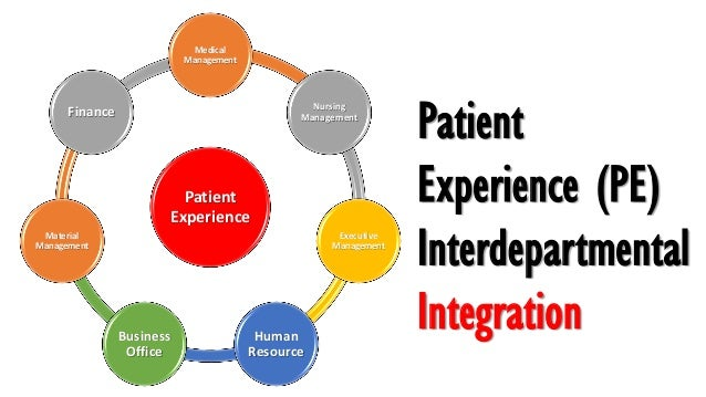Patient experience Knowledge, Strategies and Operation Slide 3