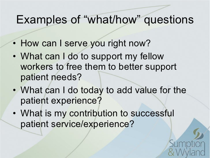 patient focused care Commentary about the impact of patient-centered care.