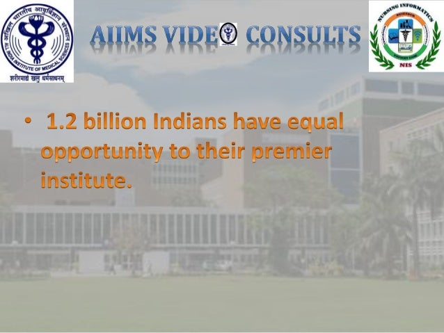 Patient guide for AIIMS video consults Slide 2