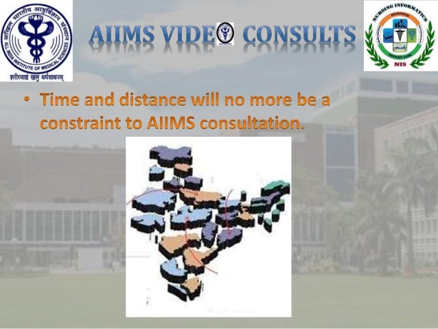 Patient guide for AIIMS video consults Slide 3