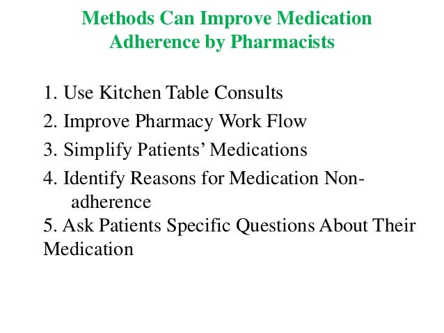 Improving adherence to antipsychotic medications to patients