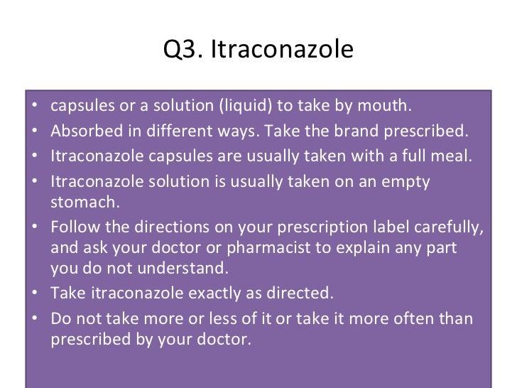 Itraconazole solution stability || blog.manicurex.ru