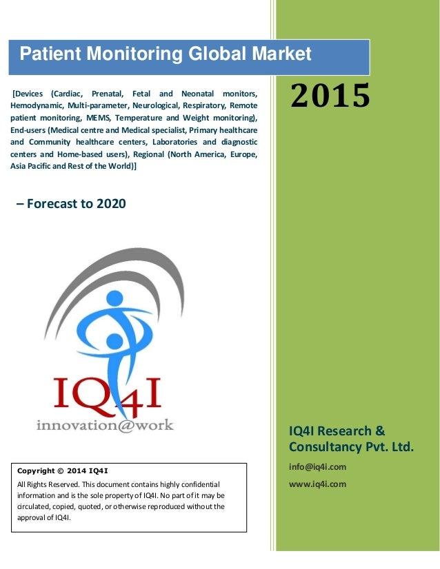 Patient Monitoring Global Market Sample Report