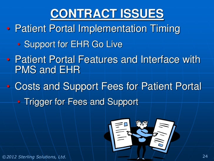 patient portals Patient portals are healthcare-related online applications that allow patients to interact and communicate with their healthcare providers, such as physicians and hospitals.