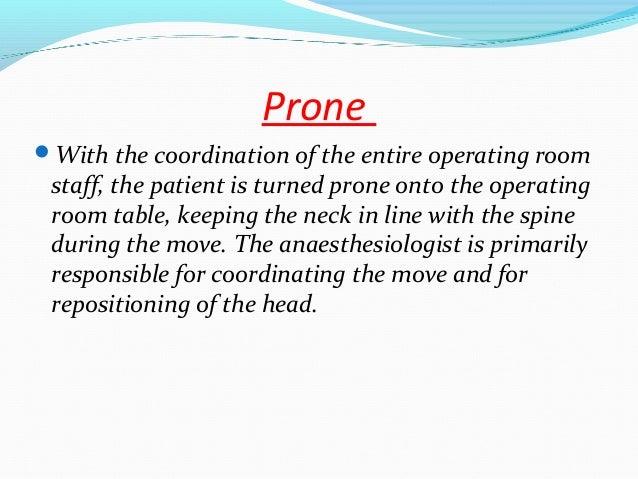 Patient Positioning During Surgery Dr Rakesh Kaward
