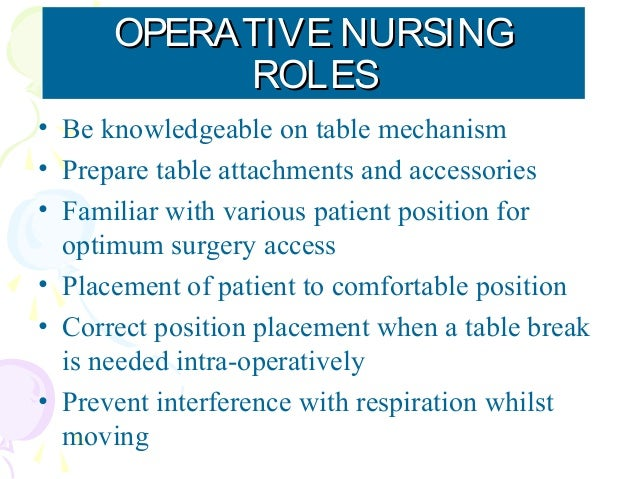 radiographers role in operation theatre Theatre preparation: heating, lighting, and humidity 272cleaning of the operating  theatre 274the management of surgical equipment 275correct site surgery.
