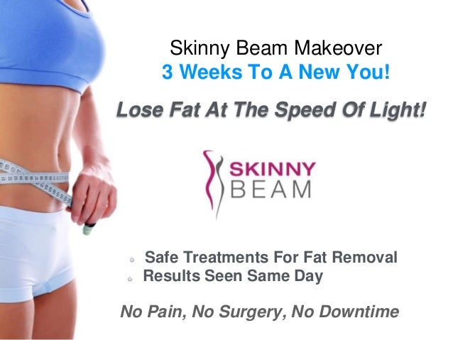 Skinny Beam Makeover  3 Weeks To A New You!  Lose Fat At The Speed Of Light!  Safe Treatments For Fat Removal  Results See...