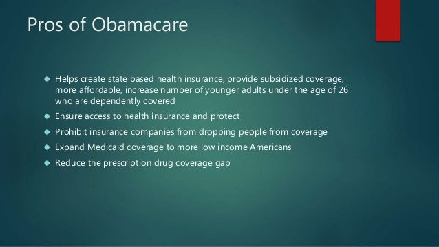 OBAMACARE PROS AND CONS EBOOK