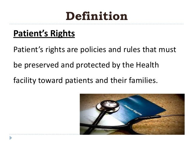 what are the rights of patients Learn your rights as a patient patient rights are changing all the time, but there are rules of conduct, communication, confidentiality, legal principles in medicine.