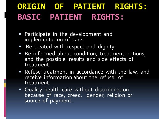 patient dignity and effects Dignity and respect the law each patient shall of the patient's dignity and individuality by all employees of the comment to the patient to the effect.