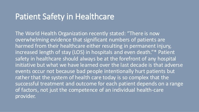 Free Podcast : Patient Safety in Healthcare Slide 3