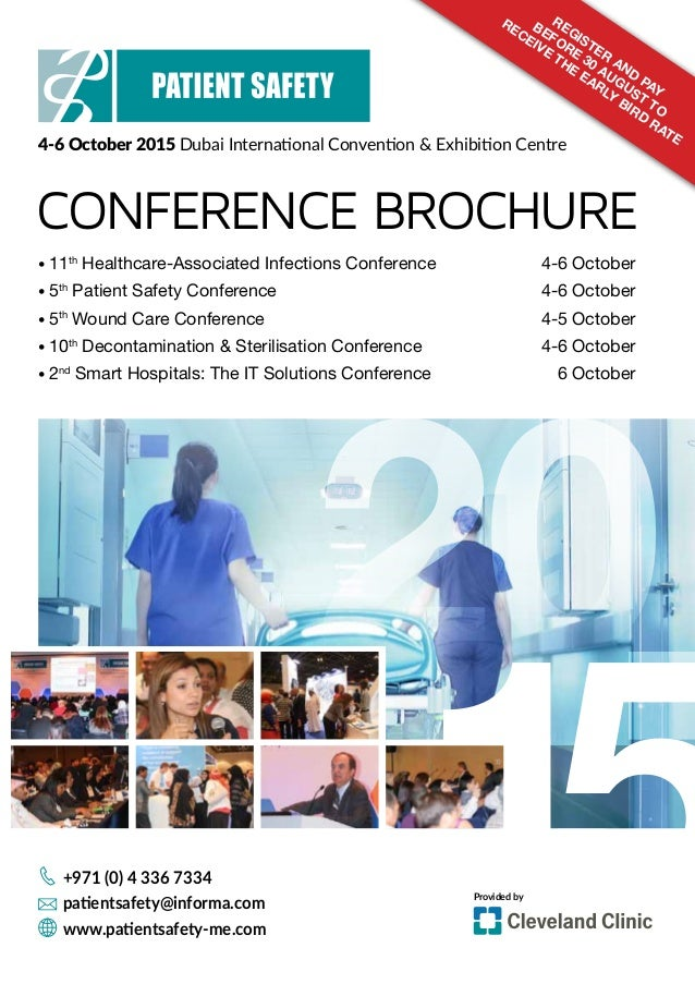 conference brouchure