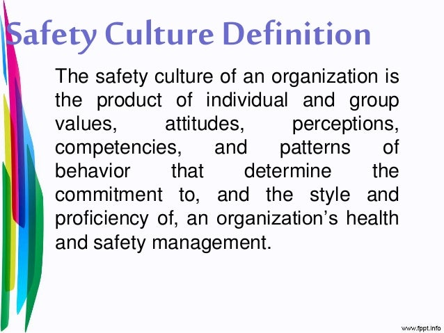 four characteristics of a culture of safety But while most providers have good intentions when it comes to patient care, the 'culture of safety' can 6 essential components of a culture of safety in the operating room becker's healthcare.