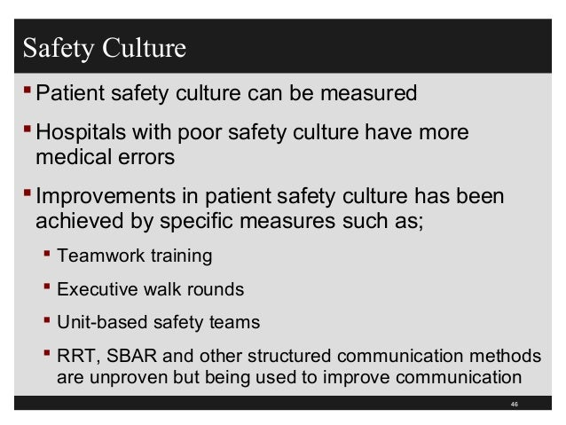 improving communication for patient safety This guide explains how to introduce and use sbar, a widespread and valuable communication tool sbar stands for situation-background-assessment-recommendation, and is a formula for effective, concise and clear communication.