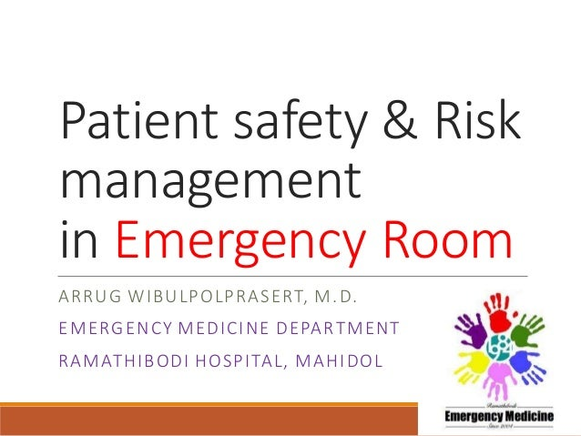 factors that influence risk management in healthcare