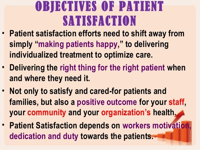 the factors that increase patient s satisfaction Home how nurse care affects patient recovery  improving patient outcomes and satisfaction  other workplace factors can impact a nurse's efforts in terms.