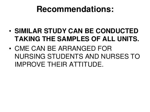 HIV / AIDS knowledge, attitudes and behaviours of student nurses