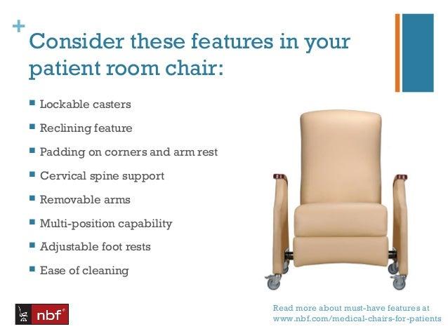 Hospital Patient Room Seating Promote Faster Safer