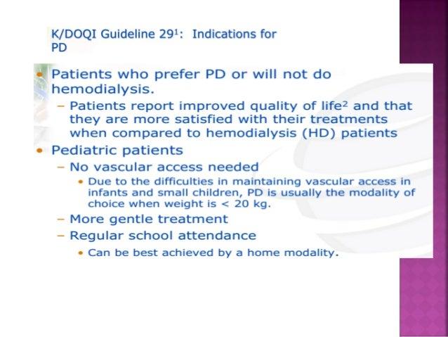 patient selection and training for peritoneal dialysis rh slideshare net Dialysis Nurse Training dialysis training manual pdf
