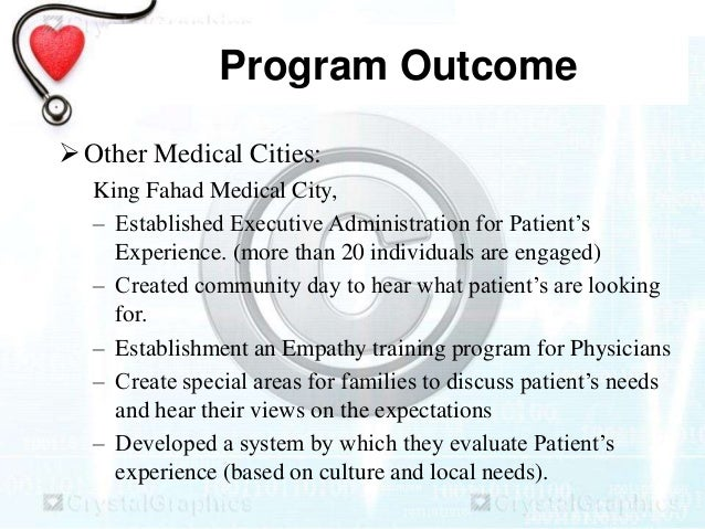 providing patients with a quality experience Providing patients with a high level of care is a priority for most providers  a  good way to ensure this is by having a standard phrase such as,.