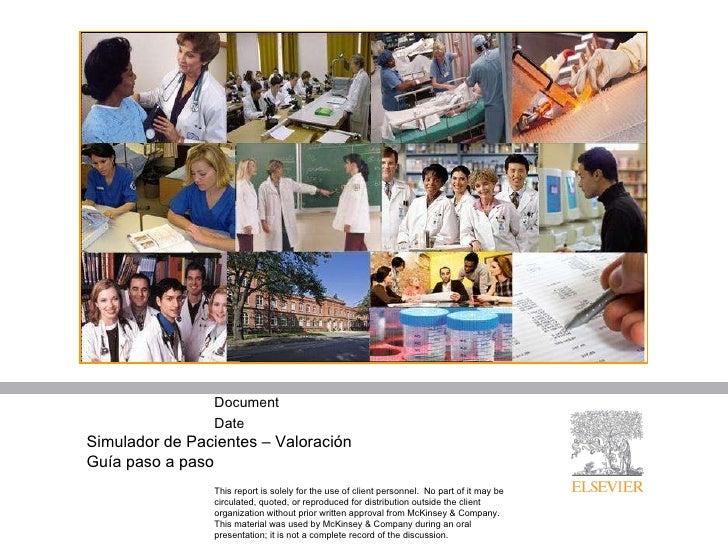 Simulador de Pacientes – Valoración Guía paso a paso