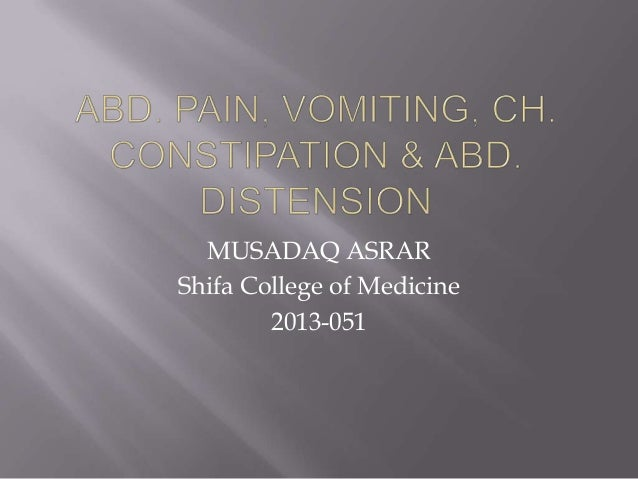 MUSADAQ ASRAR Shifa College of Medicine 2013-051